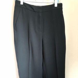 J Crew Pull on Easy Pant Black Size 2